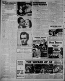 Article about The Wizard of Oz, September 1939