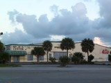 """[""""Closer view of Homestead Bowling Center from US-1""""]"""