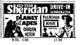 Newspaper ad, July 13, 1968