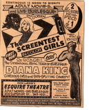 Esquire Theater Burlesque