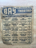 Bay Theatre Entertainment Guide for October 1944