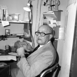 <p>Jack Blum was a company man.  He was proud working for Loew's Theaters.  He managed the Bay Harbor Theater from 1972-1975.  Previously, he worked at Loew's Orpheum in New York.  He was gruff and demanding, but kind.</p>                            <p>Photo by Scott J. Silverman</p>
