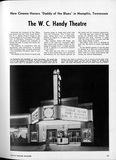 Article about Handy Theatre just after opening. From the Theatre Catalog 1947-48.