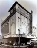 "<p>Here's another look at the Pitkin Theatre. This one appears to be a photo when the Pitkin Theatre first opened up or shortly after opening. The marquee says on front ""Stage Shows From The Capital NY"" This is dated 1929.</p>"