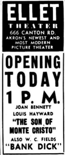 April 12th, 1941 grand opening ad