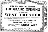 August 22nd, 1947 grand opening ad