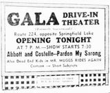 April 1st, 1949 grand opening ad