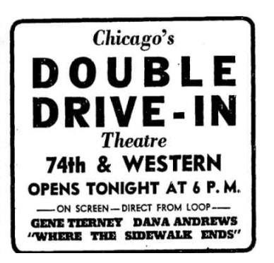 Double Drive-In