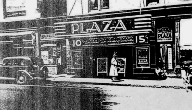 Plaza Theater, later renovated into Cinema 1