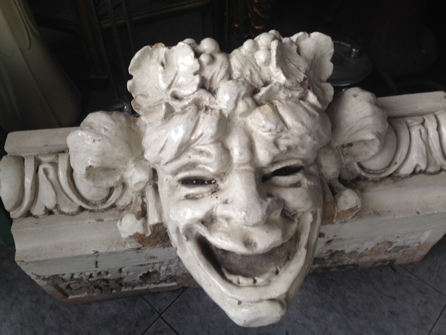SANDBURG/PLAYBOY/DEARBORN THEATER BACCHUS HEAD