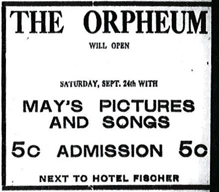 ORPHEUM (BLUE MILL) Theatre; Kenosha, Wisconsin.