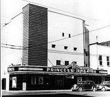 Princess Theater 1940s or 1950s