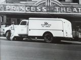 Red Rose Truck in front of the Princess Theater 1950s?
