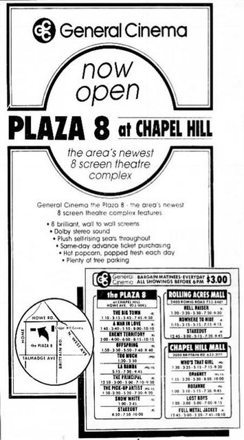 September 25th, 1988 grand opening ad