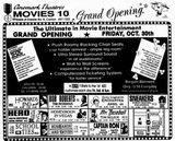 October 30th, 1992 grand opening ad