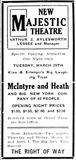 March 29th, 1910 grand opening ad