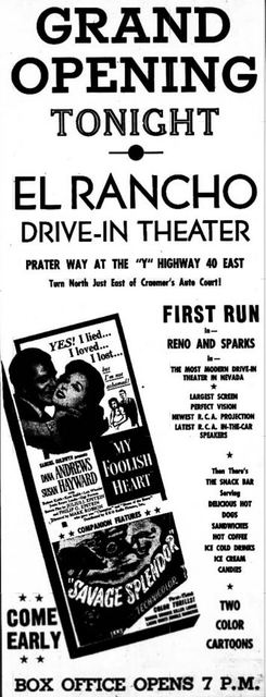 August 19th, 1950 grand opening ad