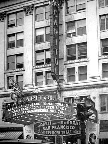 "Loew's Capitol Theatre ""San Francisco"" (1936) engagement"