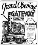 GATEWAY (LAKE, RHODE) Theatre; Kenosha, Wisconsin.