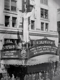 "Loew's Capitol Theatre ""The Solitaire Man"" (1933) engagement with Aimee Semple McPherson in person"