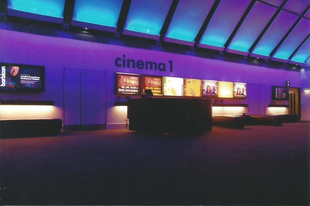 Barbican Cinema 1