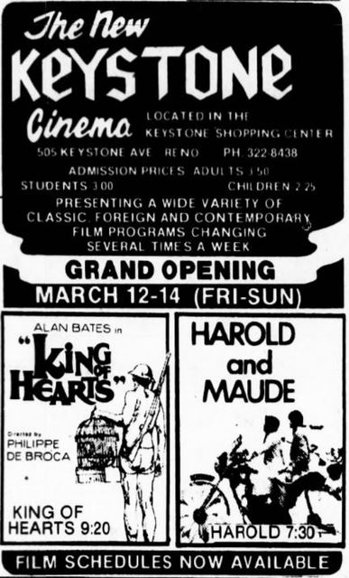 March 12th, 1982 grand opening ad