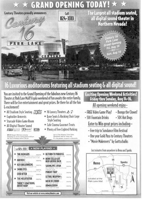 August 14th, 1998 grand opening ad