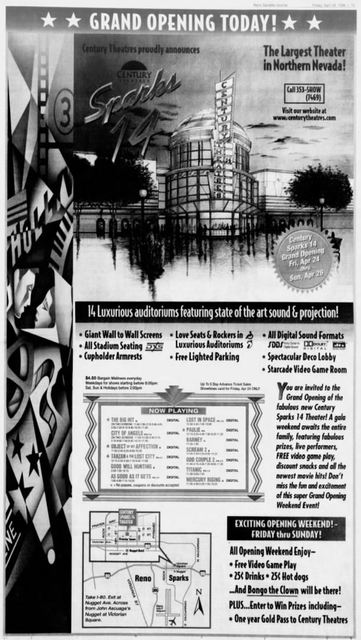 April 24th, 1998 grand opening ad