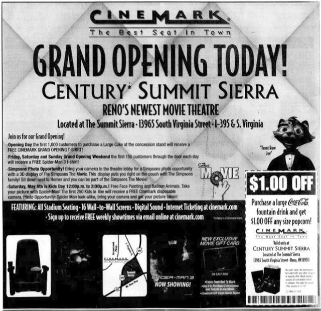 May 4th, 2007 grand opening ad