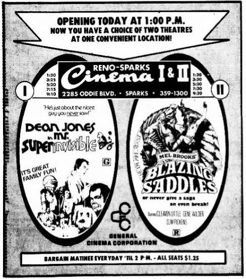 Sparks Cinema 1 & 2