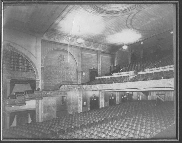 Interior Irving Theatre