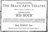 January 21st, 1925 Grand opening ad