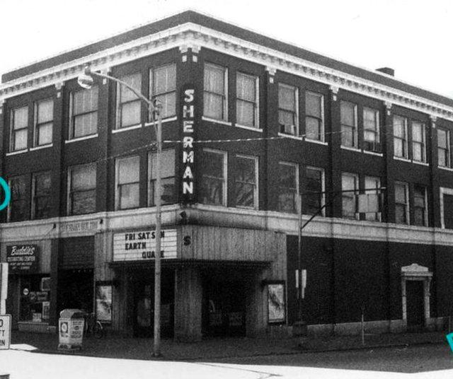 SHERMAN Theatre; Sullivan, Indiana.