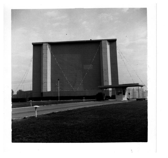 62 Drive-in screen tower