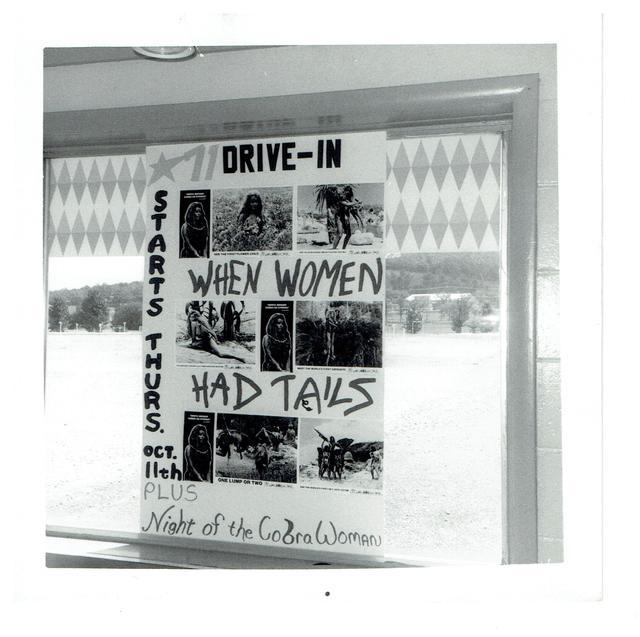 71 Drive-in theatre Spook a thon attraction board