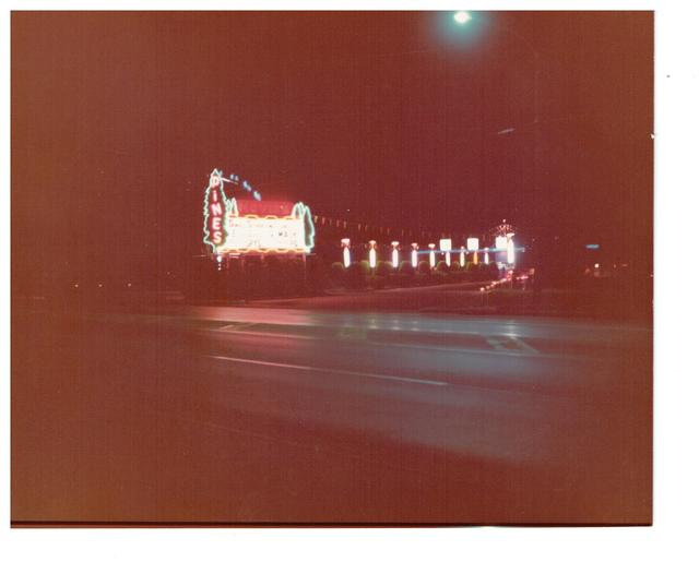 The infamous but ever popular pines Drive-in theatre