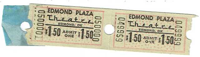 Edmond Plaza twin Some of the last tickets sold