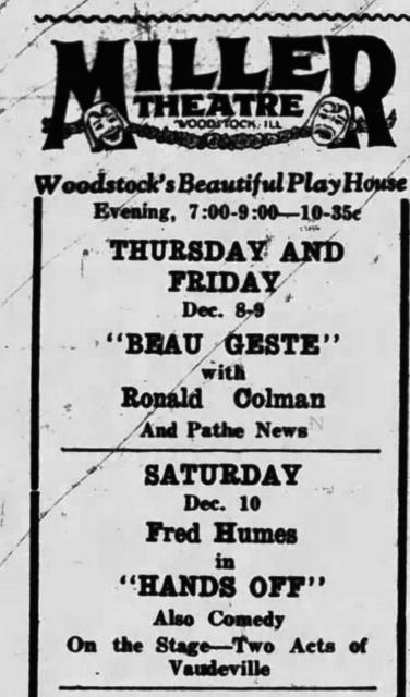 Woodstock Theatre