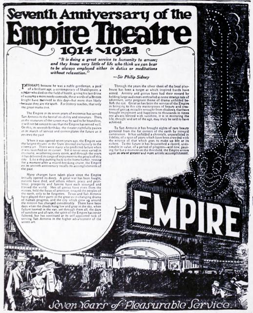Charline McCombs Empire Theatre