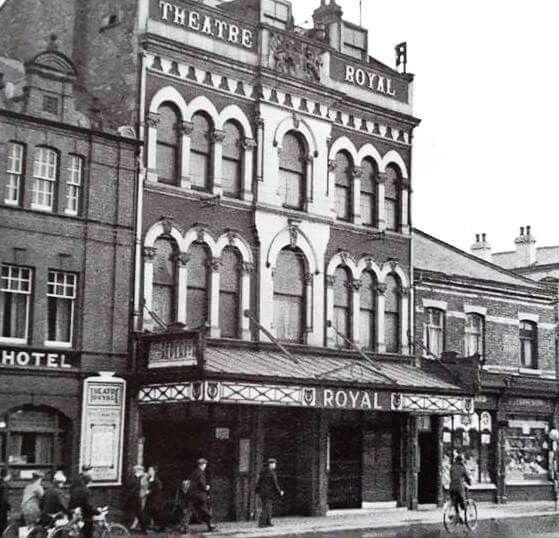 Theatre Royal 1937 prior to reconstruction as ABC Regal