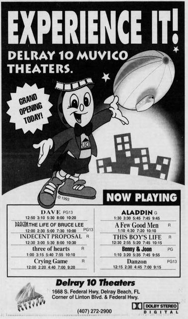 May 7th, 1993 grand opening ad