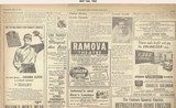 Bridgeport News ad showing what was playing at the Ramova.