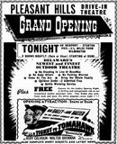 September 1st, 1950 grand opening ad