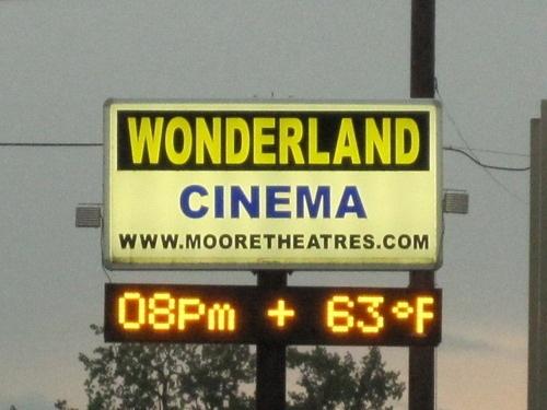 wonderland cinema in niles mi cinema treasures