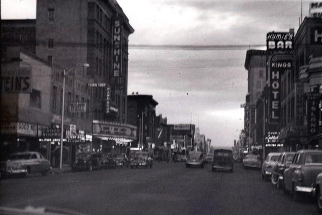 1953 photo courtesy of Derik Lattig.