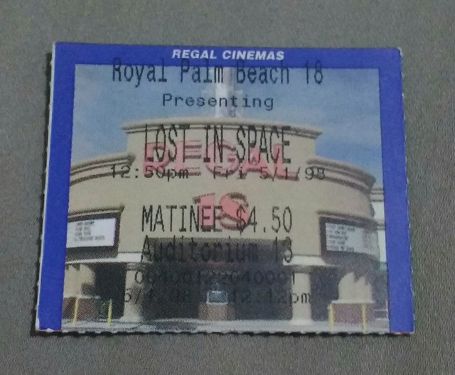 Opening Day Ticket Stub