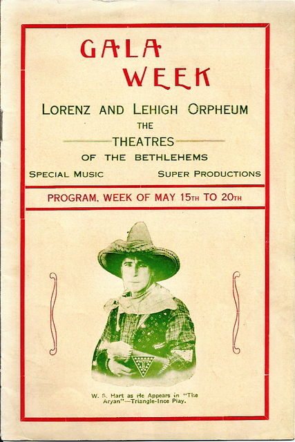 Combined program for the Lehigh Orpheum and Lorenz Theatres