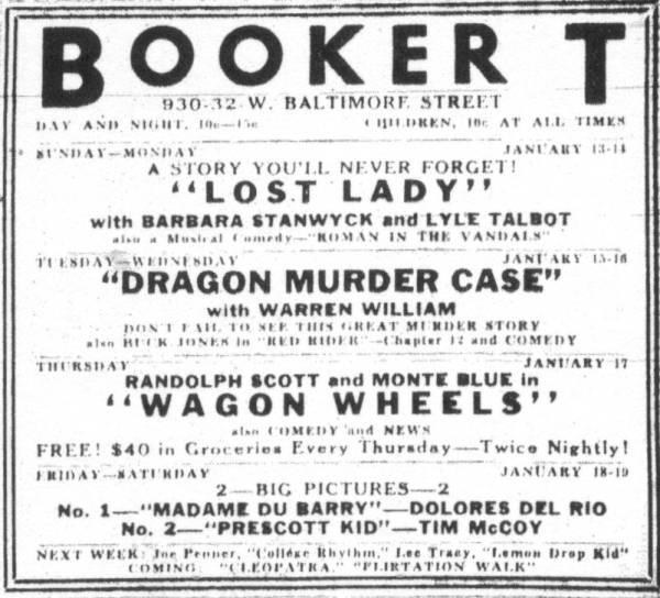 Booker T Theatre