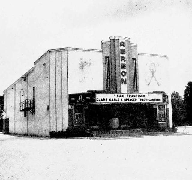 aereon theatre in metairie la cinema treasures
