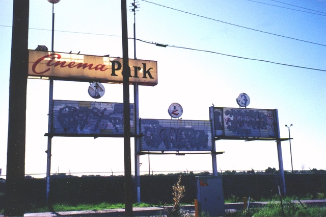 The Cinema Park Marquee